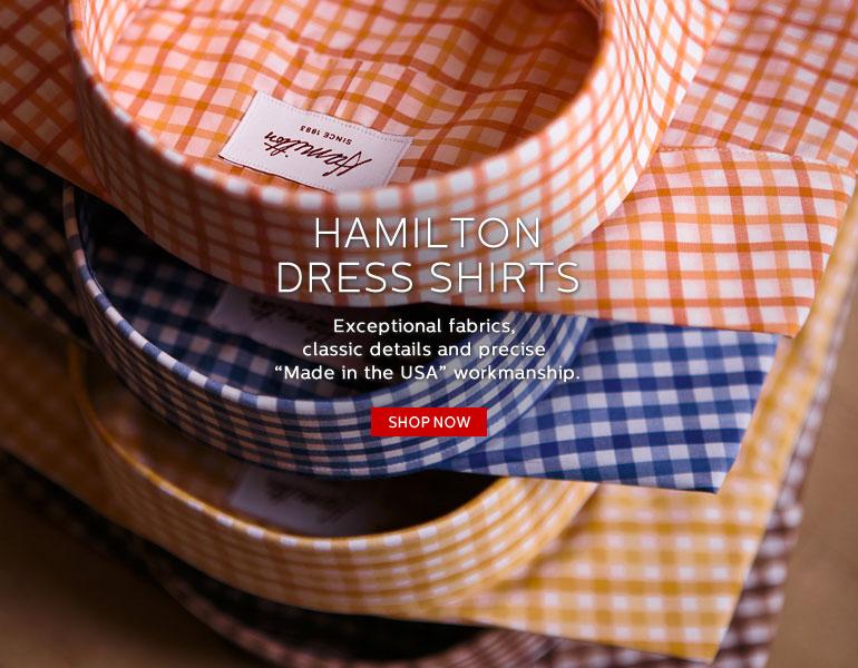 Hamilton Dress Shirts