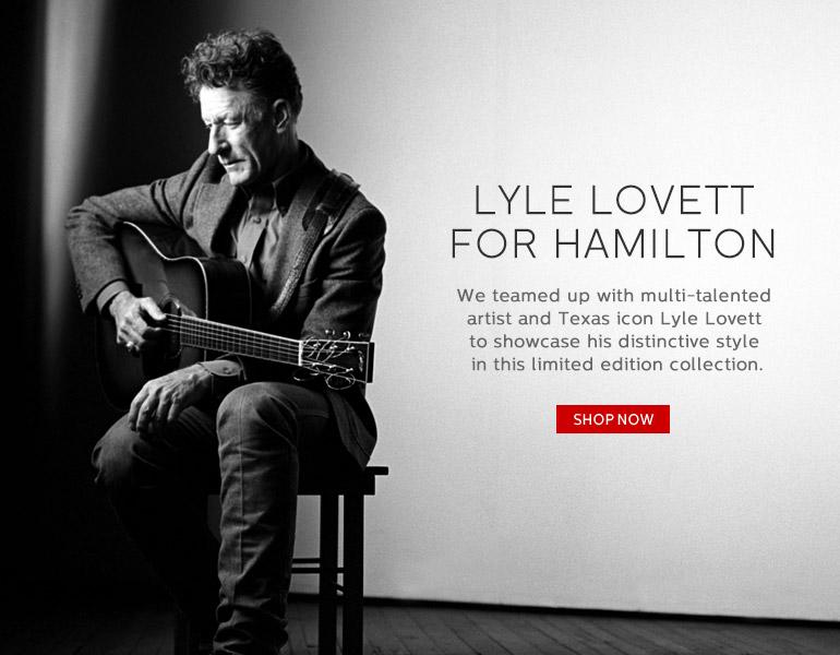 Lyle Lovett for Hamilton