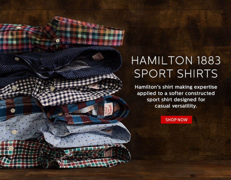Hamilton 1883 Sport Shirts