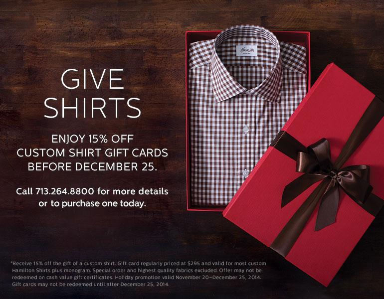 Give Shirts
